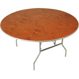 60 Inch Round Table   Seats 6 To 8 (10 Tightly) ...