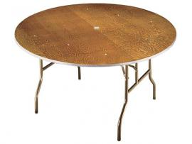 72 Inch Round Table   Seats 8 To 10 (12 Tightly) ...