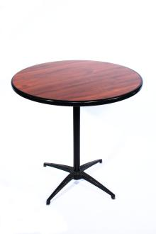 30 Inch Revolution Round Table   Specify Height: 32 Inches (Cocktail) Or 42  Inches (Kiosk)