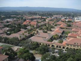 Stanford University Red Tiled Roofs